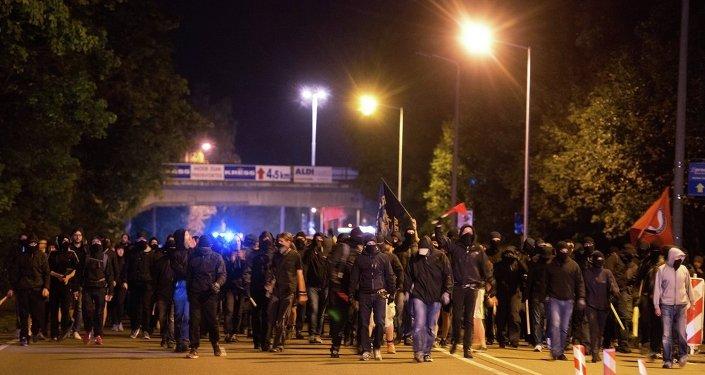 Almanya'da göçmen karşıtı gösteri