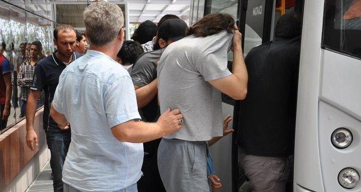 IŞİD'e katılmak isteyen kişiler Kilis'te yakalandı