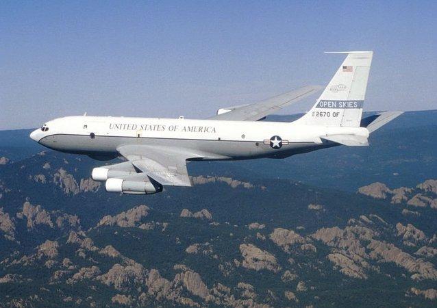Boeing OC-135B uçağı