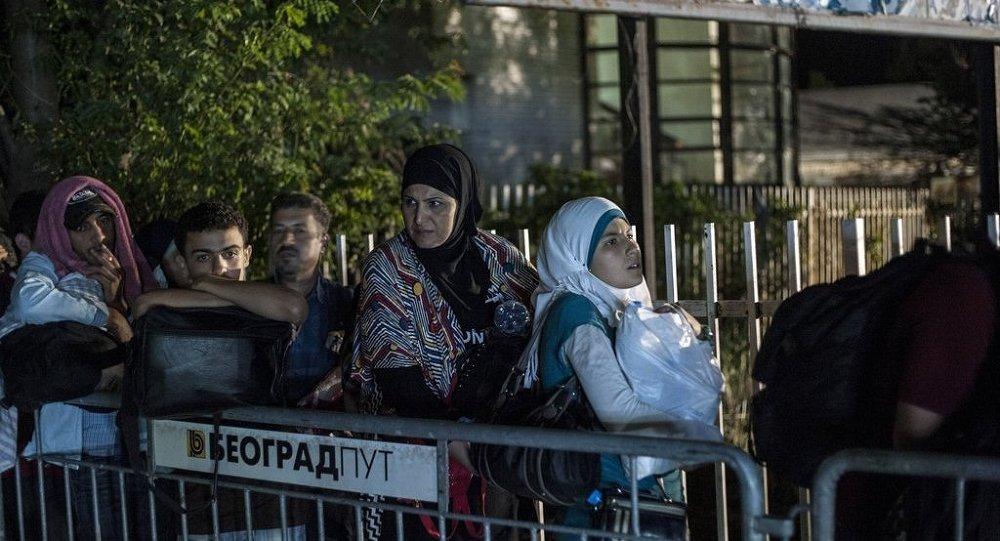 Suriye - göçmen - Sırbistan