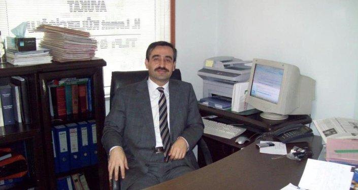 İnsani Yardım Vakfı (İHH) Kilis Şube Başkanı Hüseyin Levent Külekçioğlu