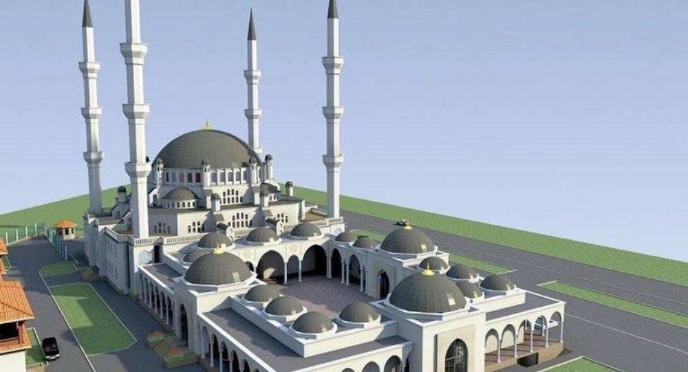 Simferopol'de inşa edilmesi planlanan Cuma Camii