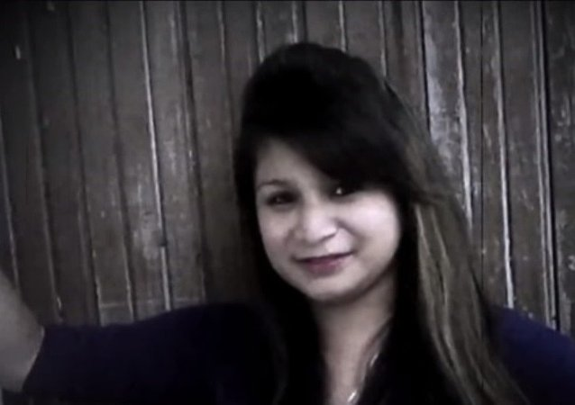 Honduras'ta diri diri gömülen kadın