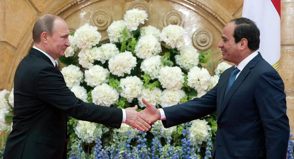 Vladimir Putin & Abdulfettah El Sisi