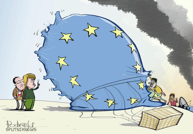 Avrupa'da göçmen sorunu