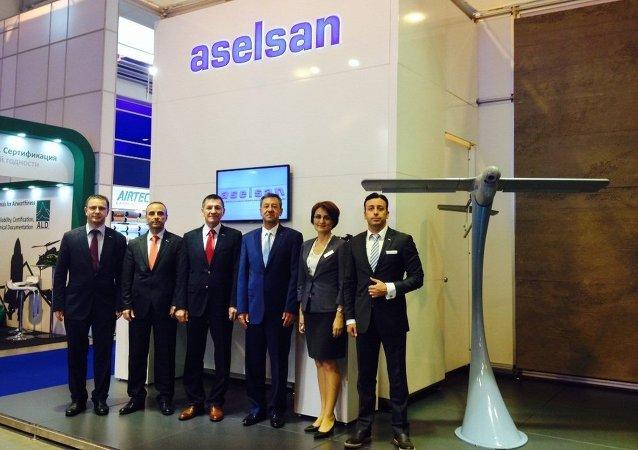 MAKS-2015 Uluslararası  Havacılık ve Uzay Fuarın'da Aselsan