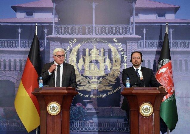 Frank-Walter Steinmeier - Selahaddin Rabbani