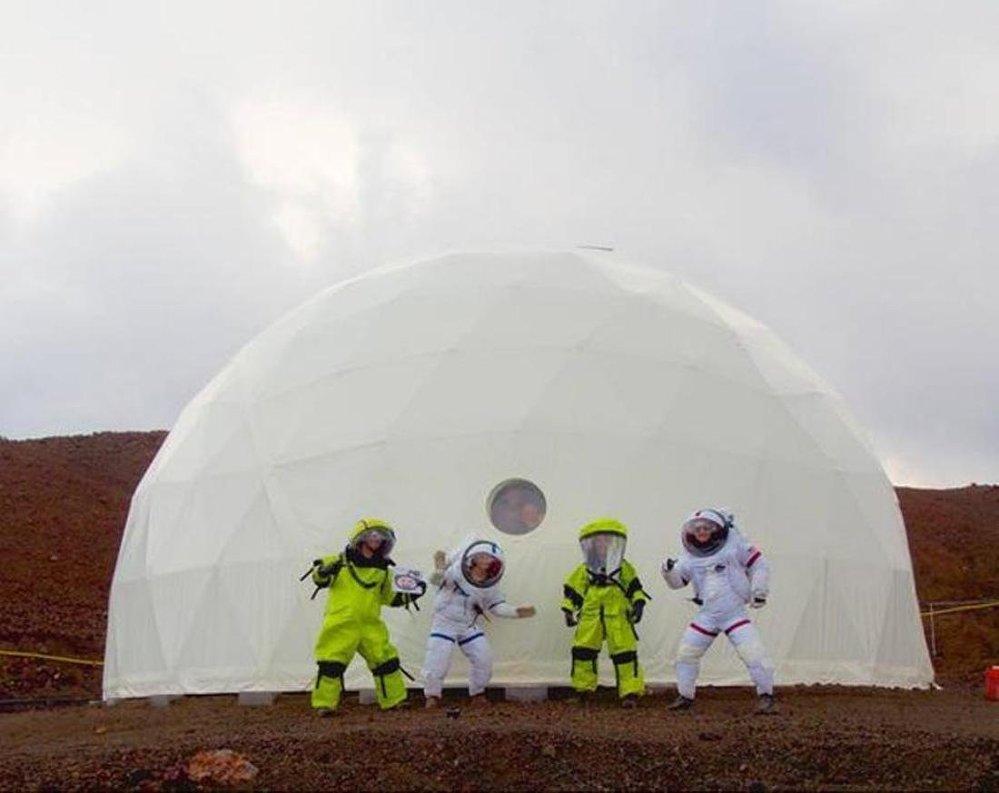 Bir yıllık Mars görevi başladı