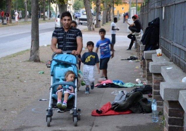 Avusturya'daki sığınmacılar