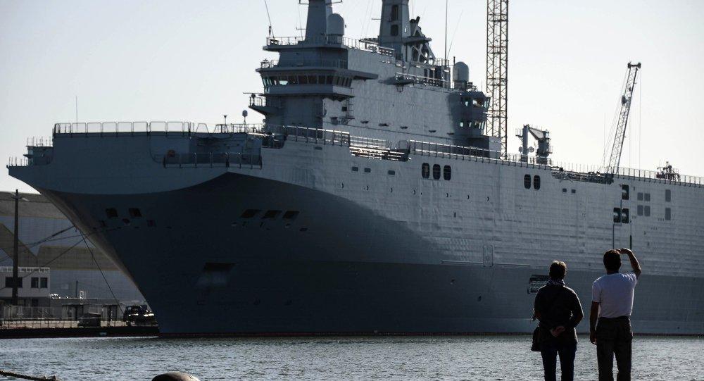 Mistral tipi helikopter gemisi