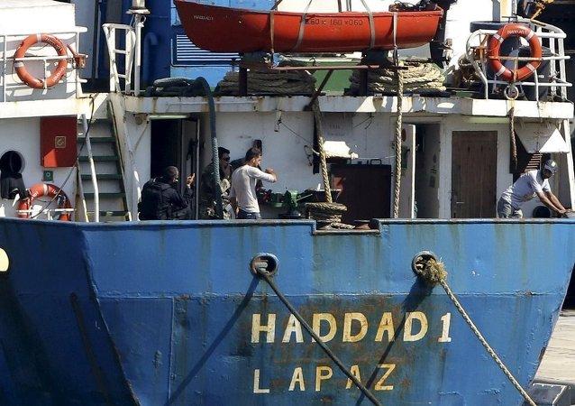 Türkiye'den Libya'ya giden gemide silah yakalandı.jpg