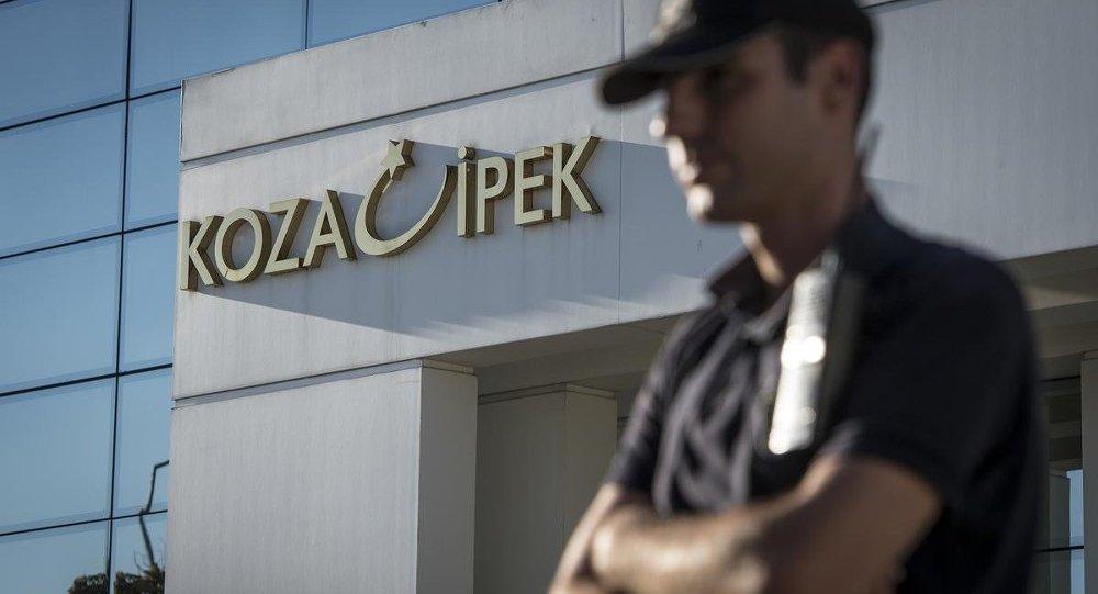 Koza İpek Holding'de arama