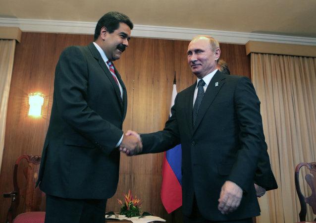 Vladimir Putin & Nicolas Maduro