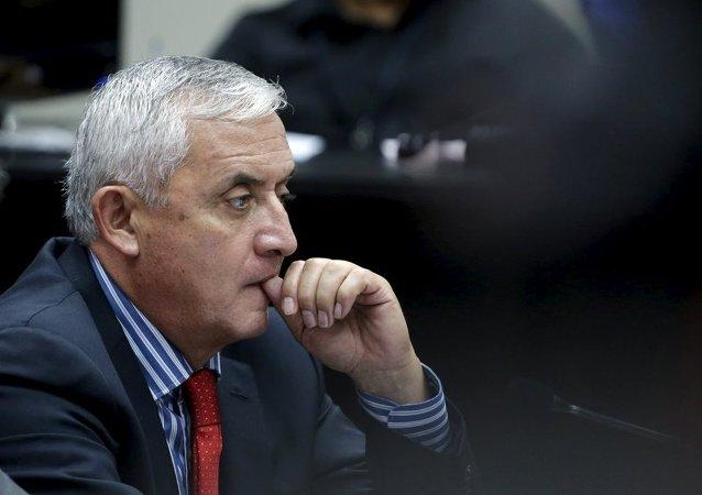 Guatemala Devlet Başkanı Otto Perez