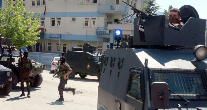Tunceli'de polis merkezine saldırı