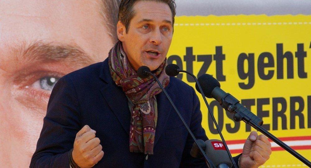 Avusturya Özgürlük Partisi (FPÖ) Genel Başkanı Heinz-Christian Strache