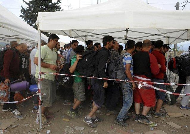 Yunanistan'daki sığınmacılar