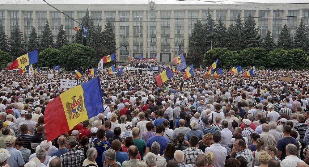 Moldova protestolar