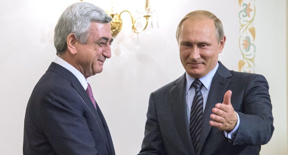 Serj Sarkisyan - Vladimir Putin
