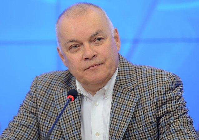 Rusya Bugün Genel Müdürü Dmitriy Kiselev