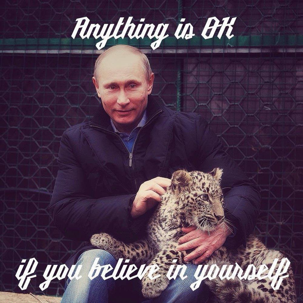 Putin, 'esin perisi' oldu