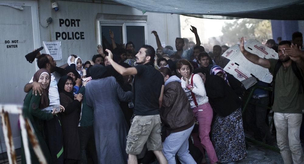 Midilli'deki Afgan göçmenler
