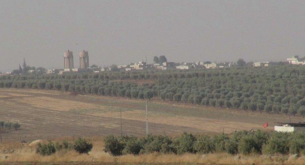 Kilis semalarında koalisyon uçakları - IŞİD
