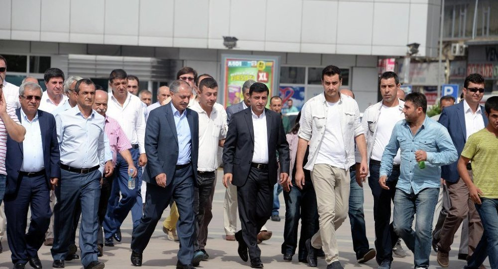 Selahattin Demirtaş Diyarbakır'da