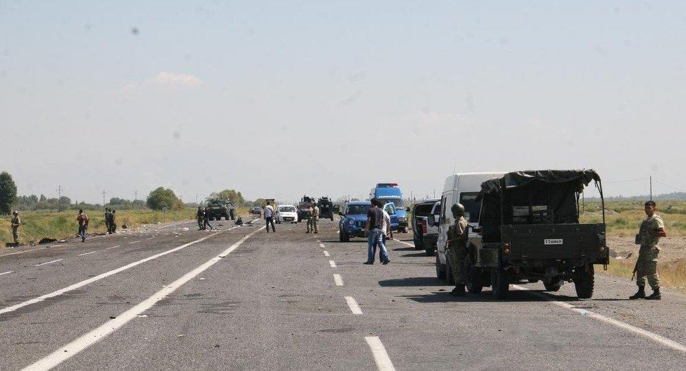Iğdır'da polise saldırı