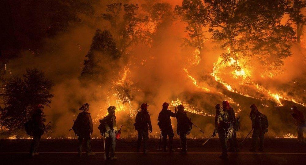 ABD orman yangını