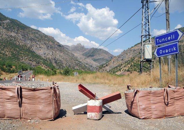 Tunceli'de PKK'ya hava destekli operasyon
