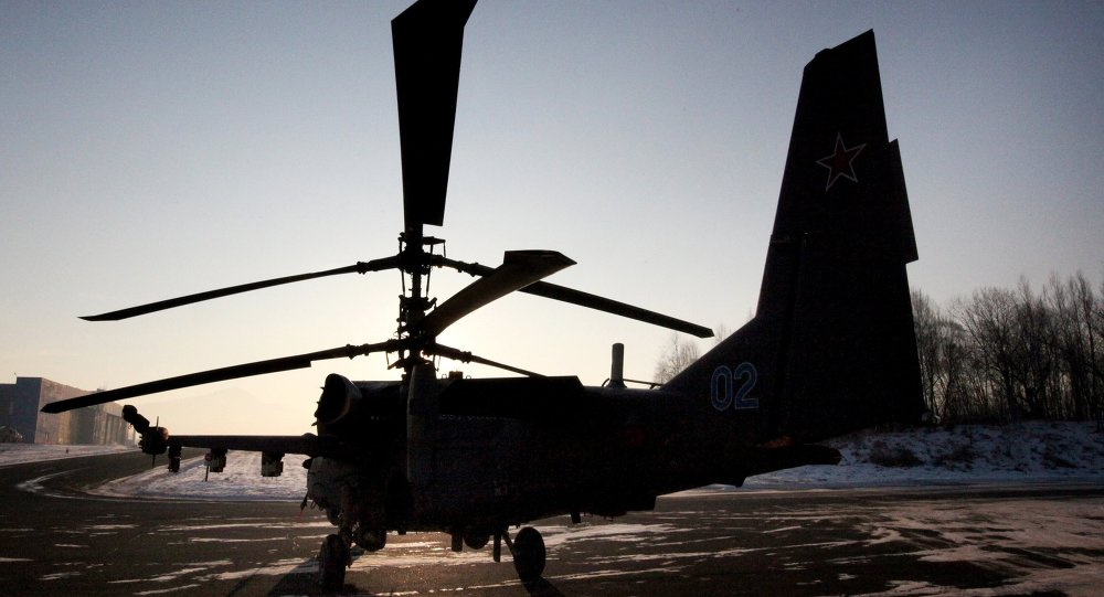 Rusya Ka-52 helikopteri