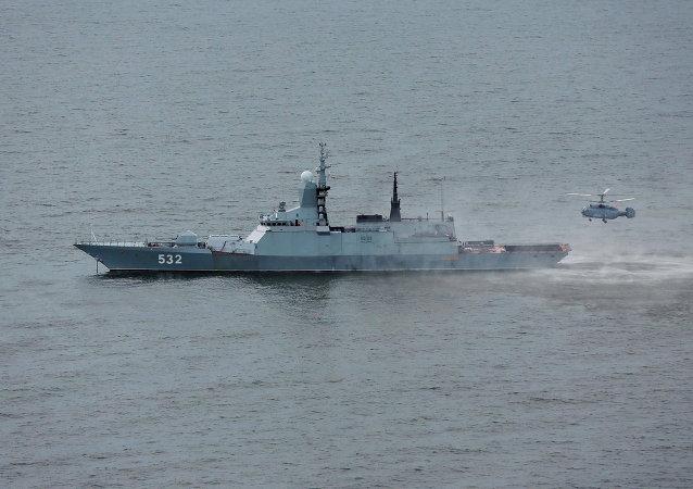 Rus hafif savaş gemisi Boykiy