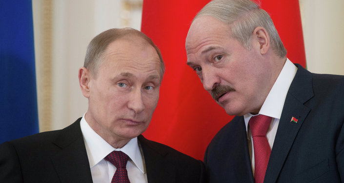 Aleksandr Lukaşenko & Vladimir Putin