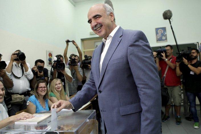 Yeni Demokrasi lideri Vangelis Meimarakis