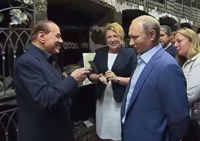 Vladimir Putin - Silvio Berlusconi