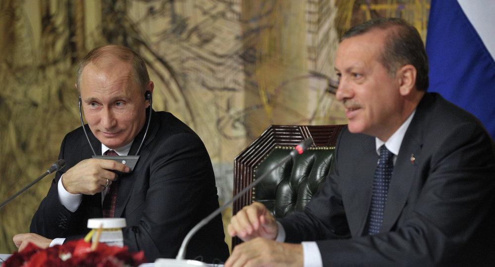 Recep Tayyip Erdoğan&Vladimir Putin