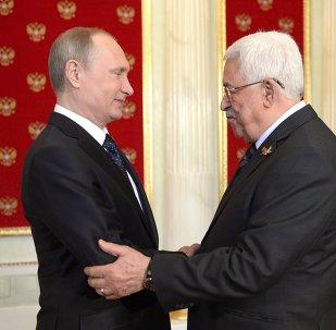 Vladimir Putin - Mahmud Abbas
