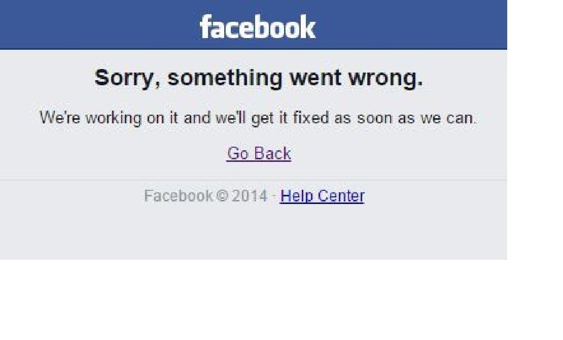 Facebook'a girmeye çalışan kullanıcılar, bu uyarı ile karşılaştı
