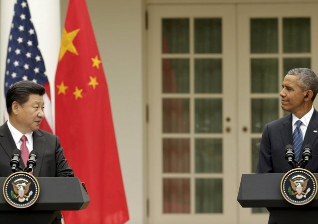 Şi Cinping & Barack Obama