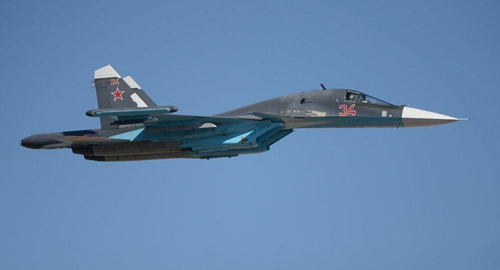Su-34 savaş uçağı