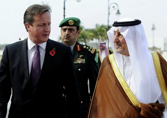 İngiltere Başbakanı David Cameron - Halid El Faysal bin Abdulaziz El Suud