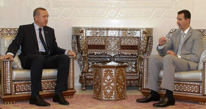 Recep Tayyip Erdoğan & Beşar Esad