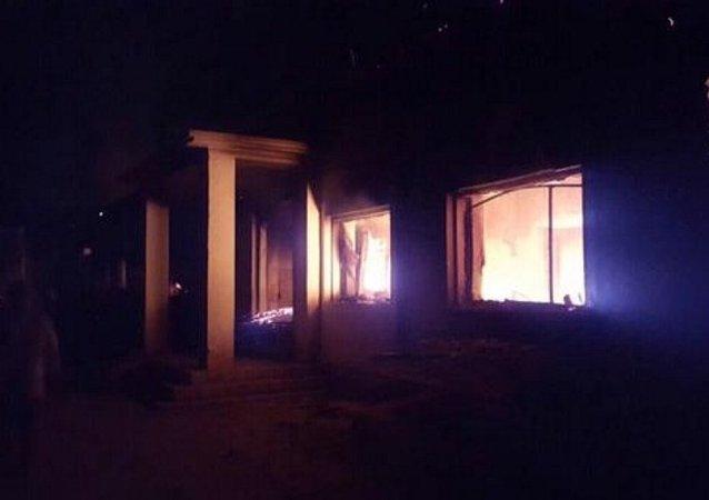 Kunduz'da hastaneye bomba