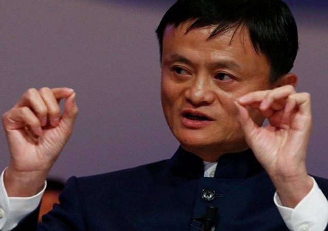 Alibaba'nın kurucusu ve sahibi Jack Ma