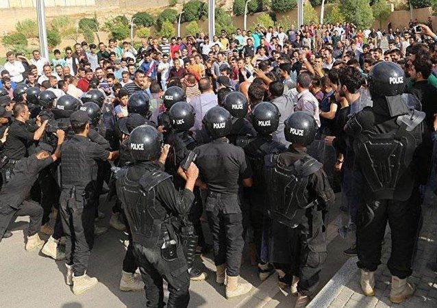 IKBY'de 'başkanlık krizi' protesto