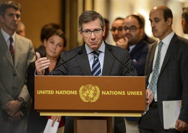BM Libya Özel Temsilcisi Bernardino Leon