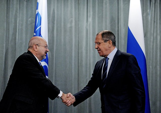 Rusya Dışişleri Bakanı Sergey Lavrov - AGİT Genel Sekreteri Lamberto Zanier
