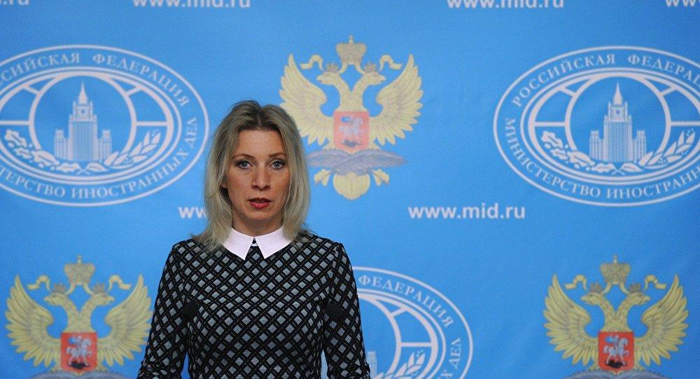 Rusya Dışişleri Bakanlığı Sözcüsü Zaharova