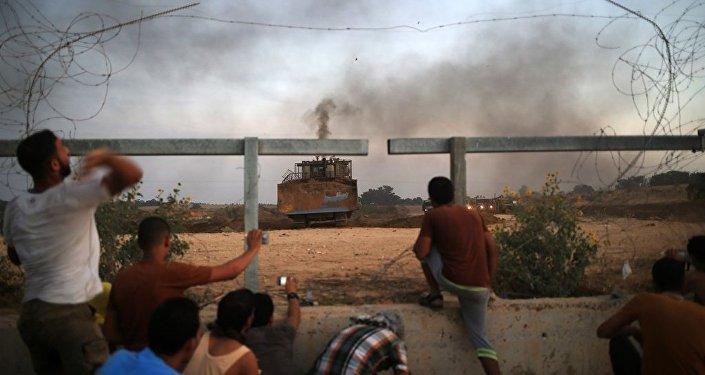 Gazze'ye ayrım duvarı